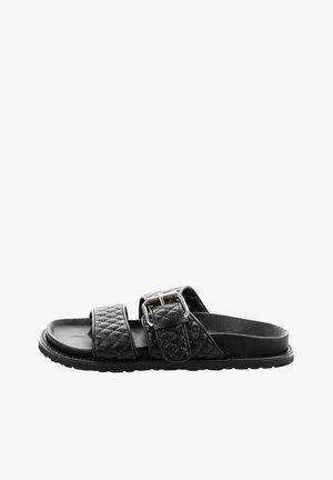 CIZZOLO - Pantofle - black
