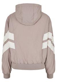 Urban Classics - CRINKLE BATWING  - Outdoor jacket - duskrose/whitesand - 7