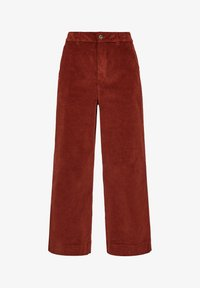 QS by s.Oliver - Trousers - brown - 3