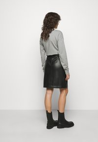 HUGO - RULENA - Pouzdrová sukně - black - 2
