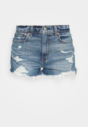 MOM - Denim shorts - blue denim