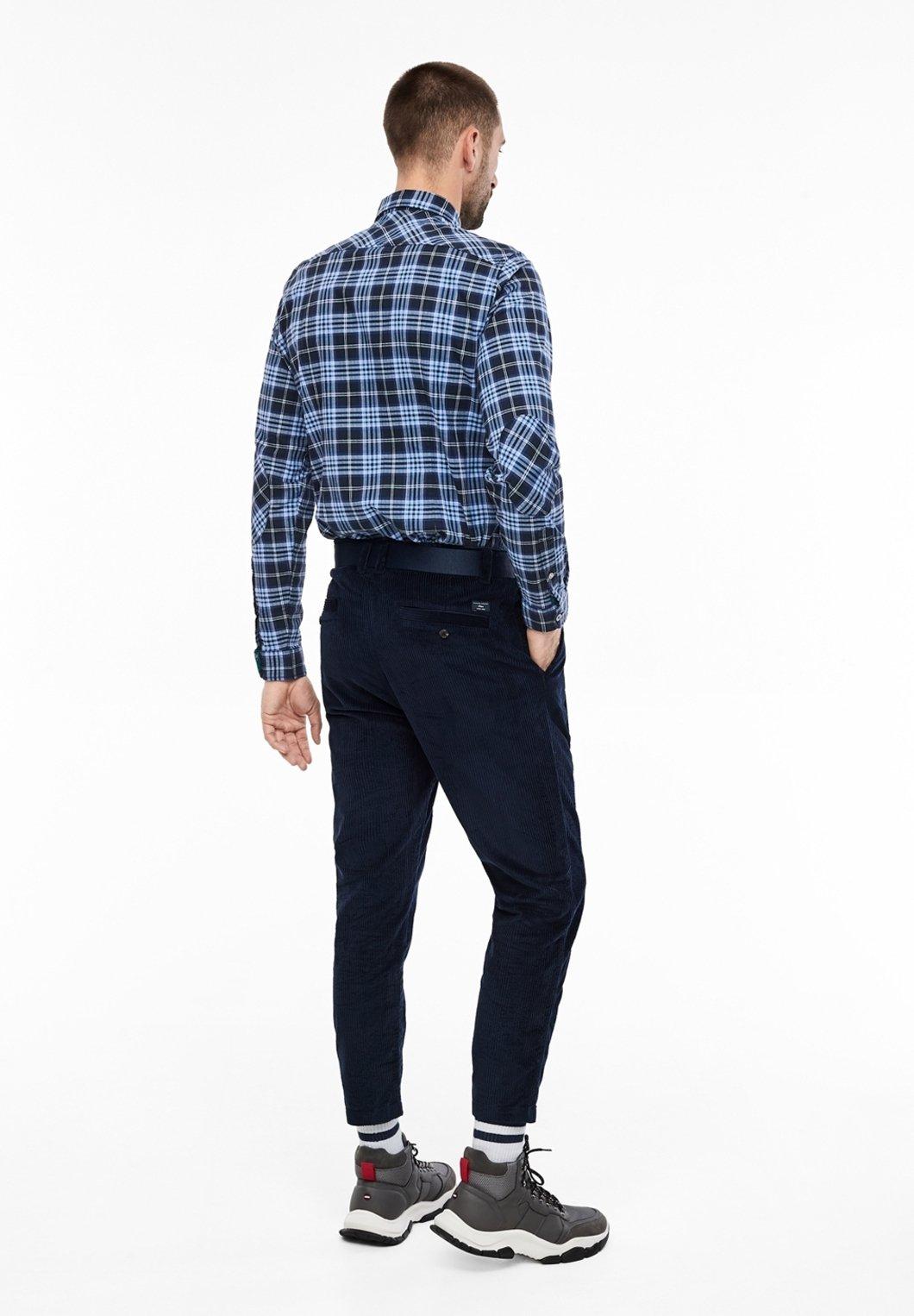 s.Oliver Overhemd - blue check  Heren Overhemden ESmTR