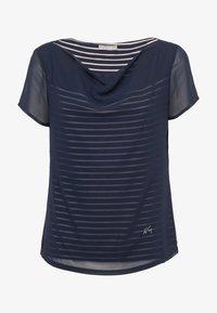 NeroGiardini - T-shirt con stampa - blu - 3