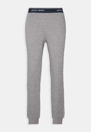 JACLOUNGE PANTS - Pyjama bottoms - light grey melange