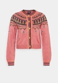 BDG Urban Outfitters - YOKED RAGLAN  - Strickjacke - pink - 5