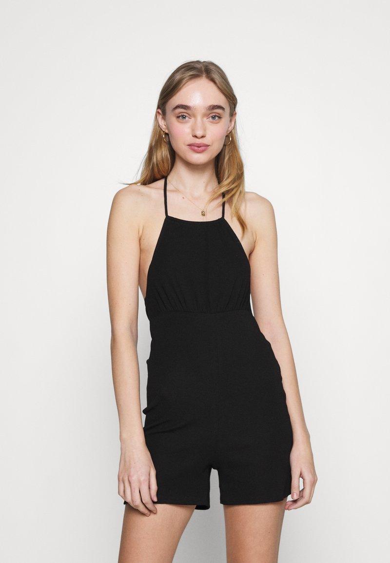 Fashion Union - BASQUE UNITARD - Jumpsuit - black