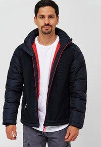 INDICODE JEANS - Winter jacket - black - 0