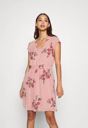 VMALLIE CAPSLEEVE DRESS - Vestido informal - pink