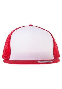 Flexfit - Cap - red/white/red - 3