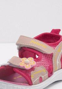 Polaris - Walking sandals - fuschia - 4