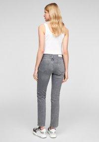 s.Oliver - Slim fit jeans - grey stret - 2