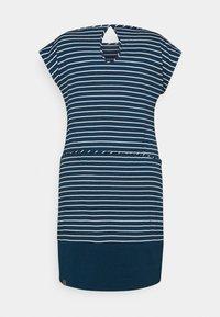 Ragwear Plus - SOHO STRIPE - Žerzejové šaty - navy - 1