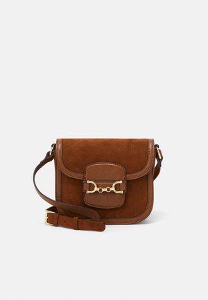 DIANA SMALL - Across body bag - cuoio