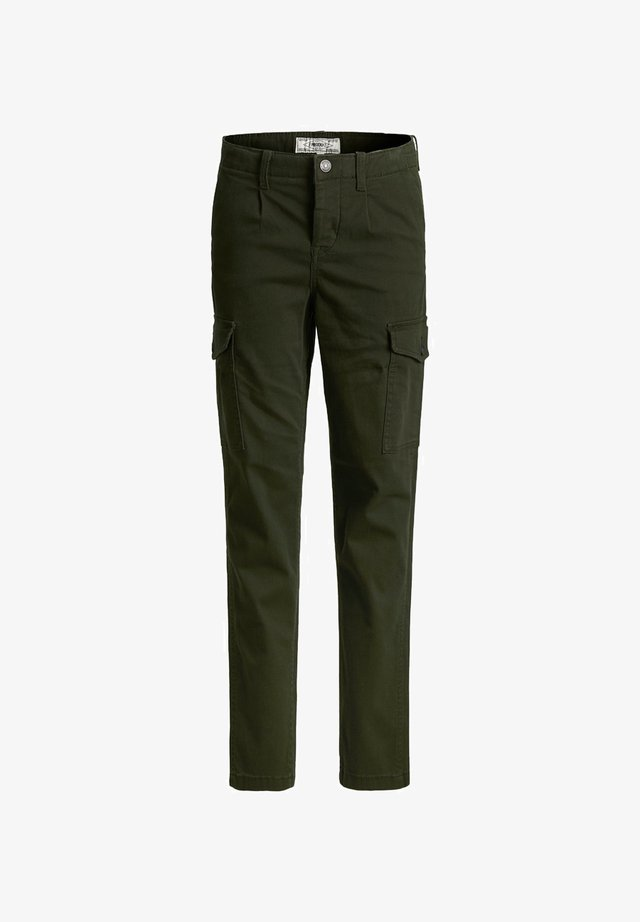 Pantalon cargo - olive night