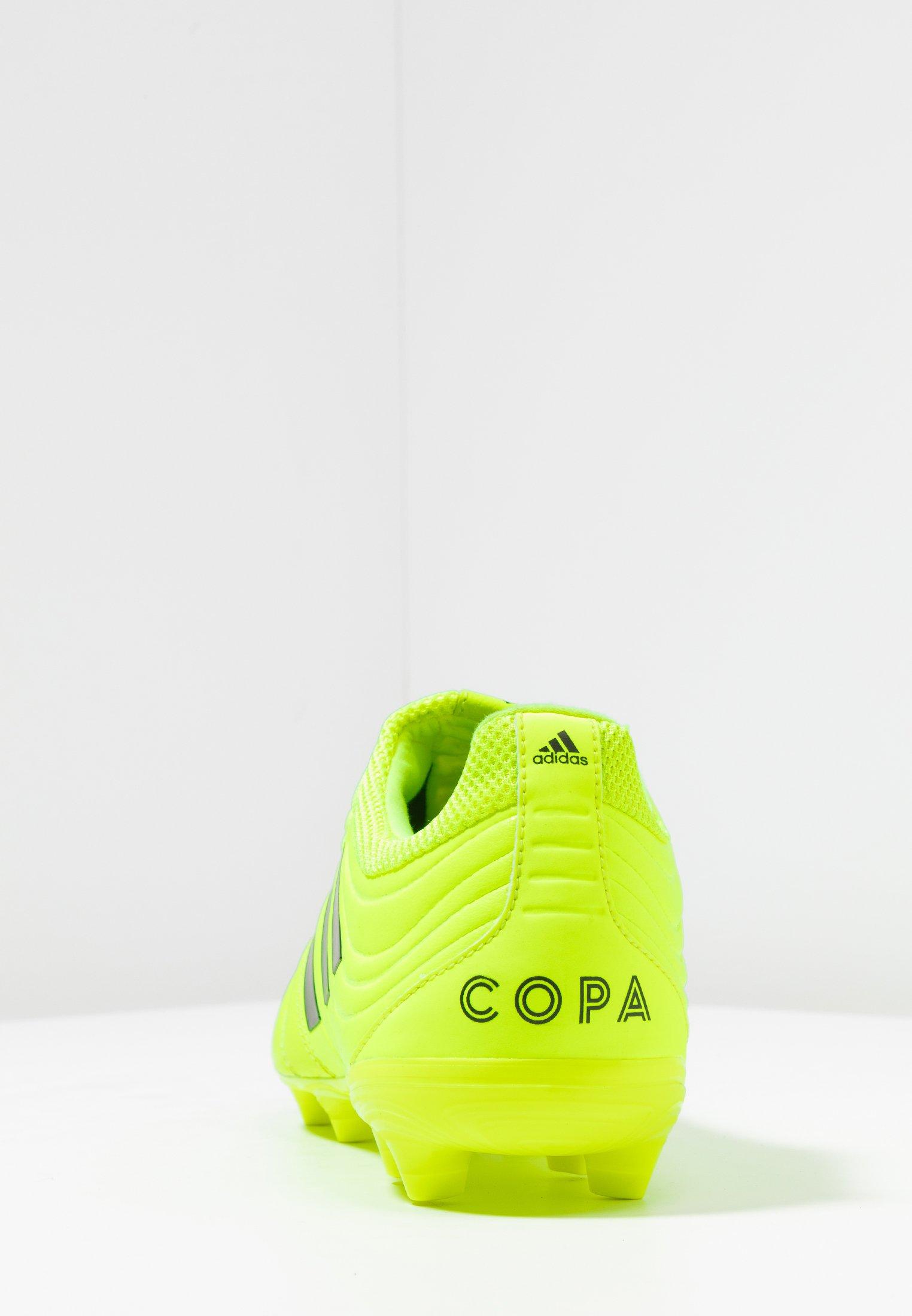 Adidas Performance Copa 19.3 Fg - Korki Lanki Solar Yellow/core Black