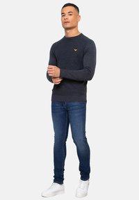 Threadbare - Pullover - blau - 1