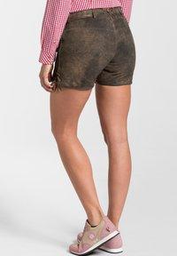 Spieth & Wensky - MIA - Leather trousers - braun - 2