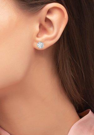 OHRSCHMUCK ELIN - Earrings - silberfarben poliert
