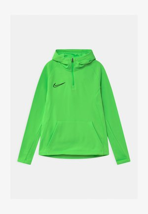 ACADEMY DRIL HOODIE - Sports shirt - green strike/black