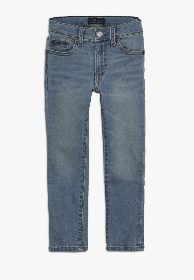 ELDRIDGE BOTTOMS - Jeans Skinny Fit - hartley wash