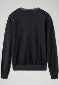 Napapijri - DRAO CREW - Stickad tröja - blu marine - 5