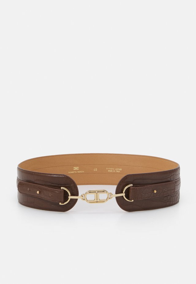WAIST BELT CHAIN - Cintura - cioccolato