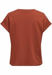 ONLY - Basic T-shirt - burnt henna - 5