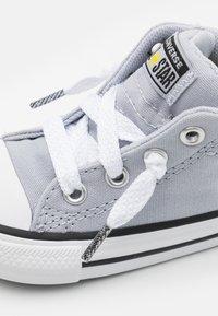 Converse - CHUCK TAYLOR ALL STAR STREET UNISEX - High-top trainers - gravel/bold citron/light field surplus - 5