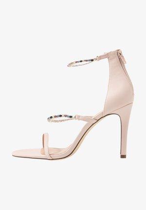 SILVERTIP - Sandály na vysokém podpatku - light pink