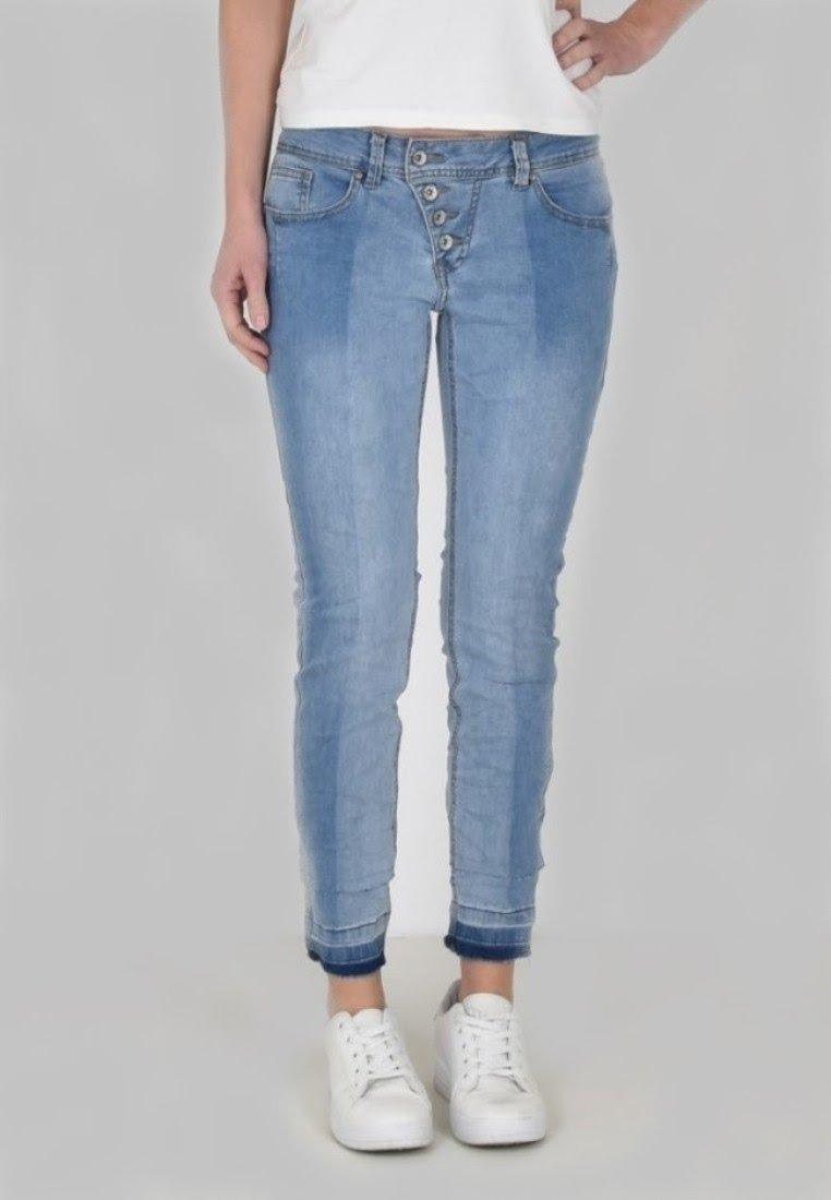 Buena Vista - Slim fit jeans - light stone wash