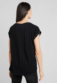 s.Oliver - Basic T-shirt - black - 2