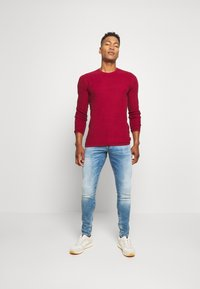 G-Star - REVEND N SKINNY - Slim fit jeans - blue denim - 1