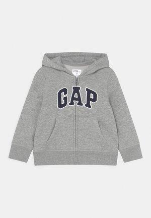 LOGO UNISEX - veste en sweat zippée - light heather grey