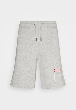JARED SHORTS - Träningsshorts - light grey melange