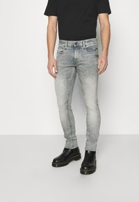 G-Star - LANCET SKINNY - Jeans Skinny Fit - grey denim - 0