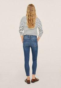 Mango - ISA - Jeans Skinny Fit - dark blue - 2