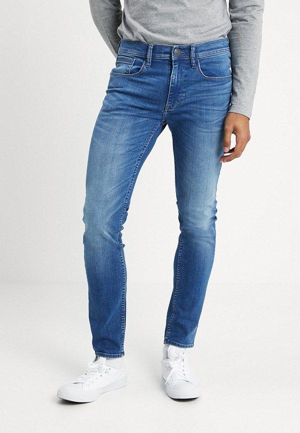 Blend Jeansy Slim Fit - denim middle blue/niebieski denim Odzież Męska PRDB