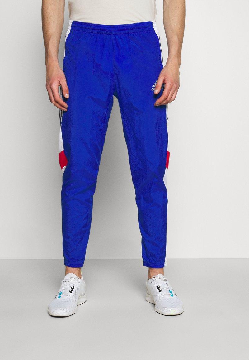 adidas Performance - TRACK - Träningsbyxor - team royal blue/white/scarlet