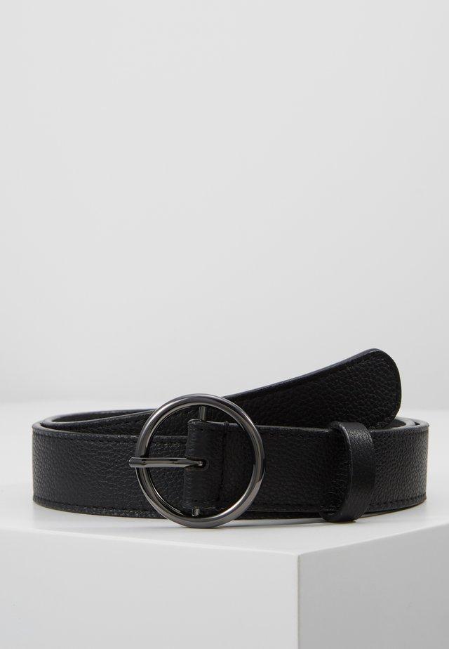 LEATHER - Riem - black