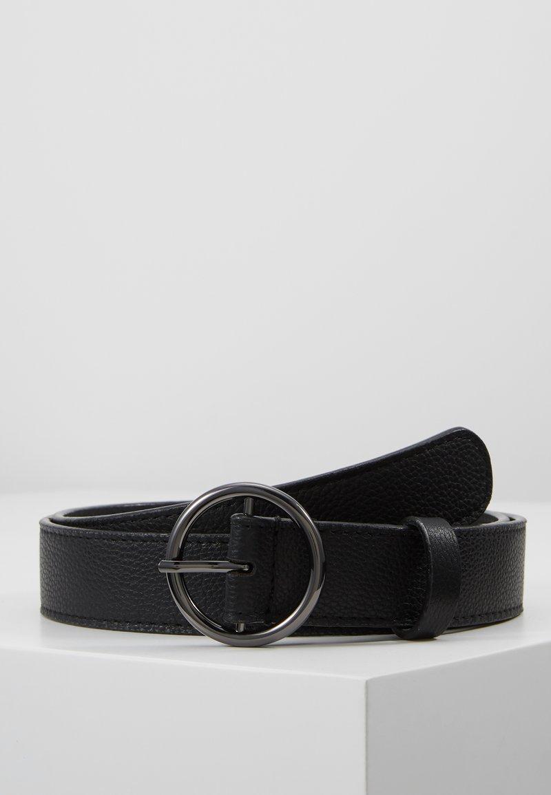 Zign - LEATHER - Riem - black