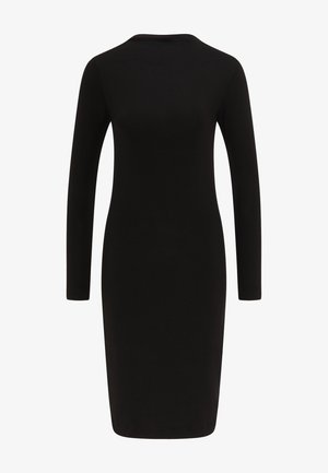 JERSEYKLEID - Shift dress - schwarz