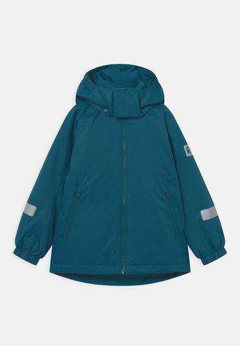 Winter jacket - deep ocean