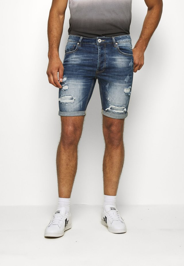 SELBOURNE CLEAN  - Denim shorts - indigo