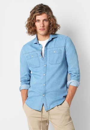 KONICA COLLAR HARBOUR SHIRT - Overhemd - denim