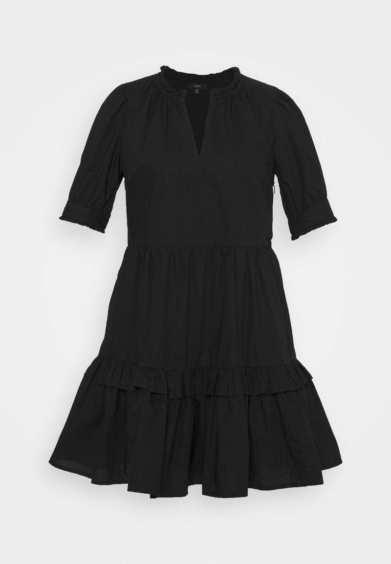 J.CREW PETITE - KRISTY DRESS SOLID - Korte jurk - black