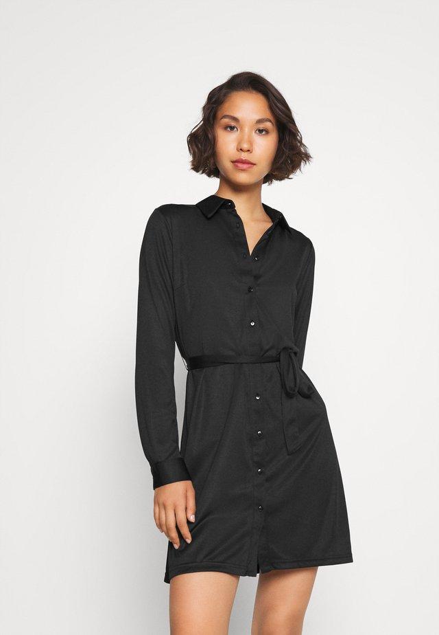 Robe chemise - black
