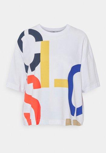 WOMEN´S - Print T-shirt - white