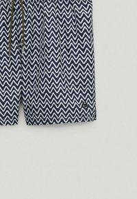 Massimo Dutti - Swimming trunks - blue-black denim - 5