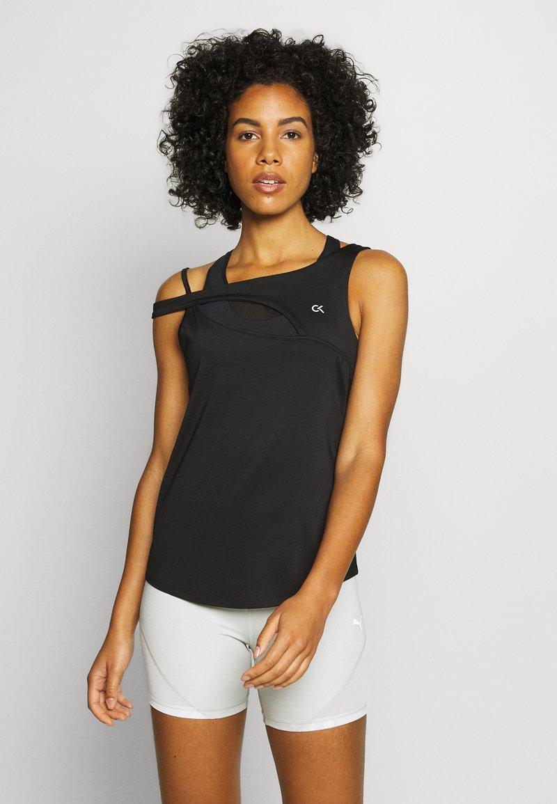 Calvin Klein Performance - TANK - Sportshirt - black
