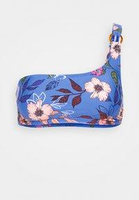 BUSTIER - Bikini top - blue